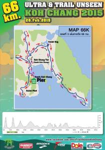 Ultra & Trail Unseen Koh Chang 2015 - Route 66k